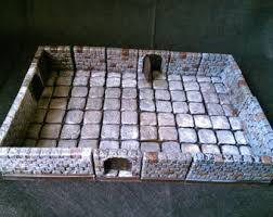 3d Printed Dungeon Tiles by Dungeon Tiles Etsy