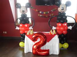 MICKEY MOUSE PARTY PARTY DECORATIONS BY TERESA