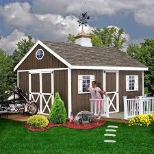 12x16 Wood Shed Material List by Amazon Com Best Barns Easton 12 U0027 X 20 U0027 Wood Shed Kit Patio