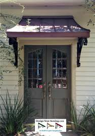 awnings on french doors