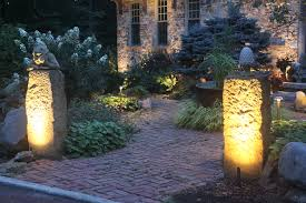 stacked pavers seattle outdoor lighting to