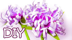 DIY Paper Flowers Chrysanthemums