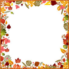 Fall border autumn borders clipart 2