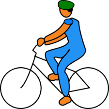 Ride Clipart Riding Bike Rider 2