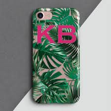 Personalised Cut Out Palm Leaf Phone Case