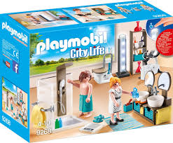 playmobil konstruktions spielset badezimmer 9268 city made in germany