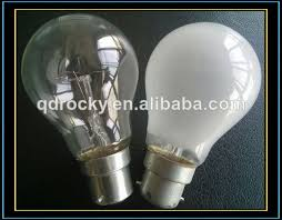 pin type b22 frosted incandescent bulbs 60w 75w 100w 220v buy