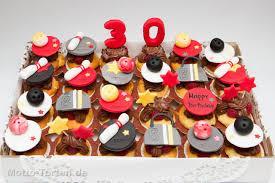 partycupcakes zum 30 und 18 geburtstag motto torten de