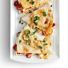 Chipotle Halloween Special 2012 by Smoked Salmon Quesadillas With Creamy Chipotle Sauce Recipe