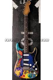 Carlos Santanas Psychedelic Strat Electric Guitar