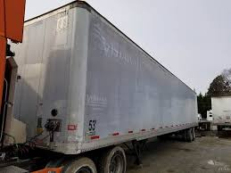 100 Stoughton Trucking 2002 53x102 Dry Van Trailer Wood Floor Aluminum Roof
