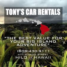 Tony's Car Rental - 26 Reviews - Car Rental - 477 Hinano St, Hilo ... Sight Sound Studios Hawaii Film Production Company Camera Tonys Car Rental 26 Reviews 477 Hinano St Hilo Truck Rentals In Honolu Hi Turo Locations Enterprise Rentacar Planning Group Transportation Passenger Van Rentals Campervan Companies For Your Us Road Trip Bearfoot Theory Opens First Location Dillinghams Dilly Dillingham Blvd Self Storage Moving Oahu Service Guide Home