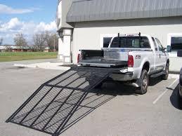 100 Truck Bed Ramp Readyramp Compact Extender Silver Long Width Beam