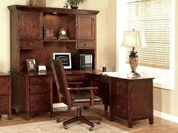 desk bush furniture cabot l shaped computer desk with hutch in