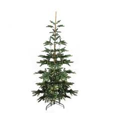 Lifelike Artificial Christmas Trees Canada by Vickerman Ashland Wood Trunk Tree With Tips An 6 U0027 Green Fir