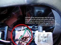 how to install rear led turn signal lights on a kia optima