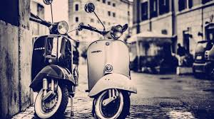 Vespa Scooters HD Wallpaper