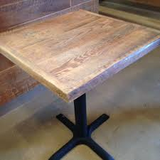 Make A Reclaimed Wood Desk by Best 10 Wood Table Tops Ideas On Pinterest Reclaimed Wood Table