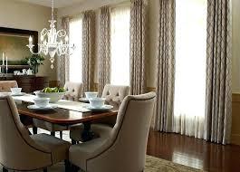 Modern Dining Room Curtain Ideas Budget Blinds Custom Sheer