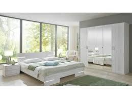 conforama chambre chambre à coucher caramella chêne blanc 180 200cm 20100866524