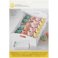 Wilton White Cupcake Carrier Box
