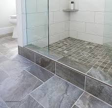 shower curb this shower has a heated floor i installed a low curb
