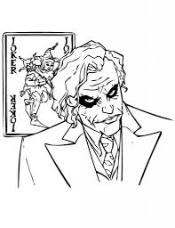 Joker Coloring Pages Pilular Coloring Pages Center