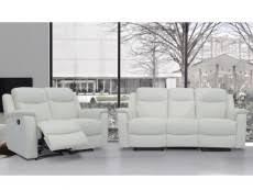 canape relax cuir blanc canape relax pas cher canape relax electrique ou manuel