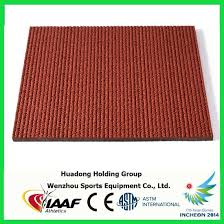 Rebound Resilience Synthetic Athletic Track Material