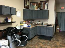 Nuvo Cabinet Paint Uk by Rustoleum Chalk Paint Charcoal Over Stained Cabinets No Primer