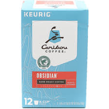 Caribou Coffee Cafe Obsidian K Cups