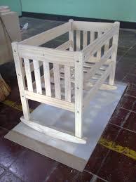 Cuna de madera Proyecto Producto de la Madera bebe