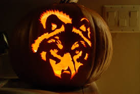 Wolf Face Pumpkin Carving Patterns 100 cool pumpkin carving ideas for halloween