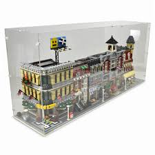 Display Case For 4x Lego Modular Buildings