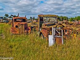 Fuji X10 Two Old Trucks Bedford & White Trucks 1930s | Flickr