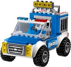 100 Lego Police Truck 10735 Chase