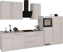 wiho küchen küchenzeile chicago mit e geräten breite 360 cm kaufen otto