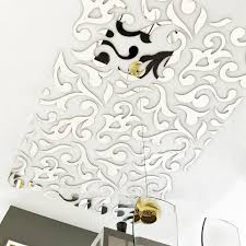 large europe ceiling paper mirror stickers tile stickers wall