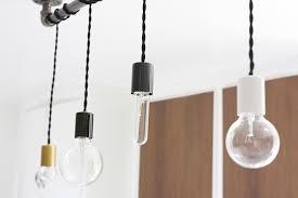 DIY Pipe Pendant Light