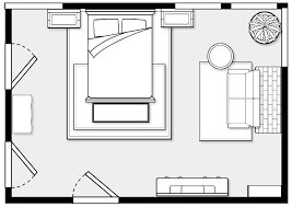 Bedroom Layout Design With Well Master Furniture Enchanting Of Designing Decor
