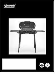 Brinkmann Electric Patio Grill Manual by Coleman Gas Grill 9944 Series User Guide Manualsonline Com