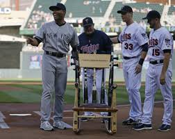 Mariano Rivera Continues To Give, And Get, On His Farewell ... Recycled Rocking Chair Made From Seball Bats Ideas Bucket Seat Contemporary 43 Rocker Recliner In Brown Dollhouse Rocking Chair Miniature Wooden Fniture 1960s Triconfort Mid Century Recliner Rivera Pool Chair White Made In France Ardleigh Essex Gumtree Rivera Swivel Patio Ding Baseball Hall Of Fame Mariano Primed For Cooperstown Vintage Doll Tall Back Spindles Sedia A Dondolo Antica Faggio Curvato Tipo Thonet 1930 Yankees Honor Retiring Pregame Ceremony Cbs News Windsor Glider And Ottoman White With Gray Cushion Chalet Ski Teak Natural Elements