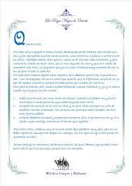 Carta De Los Reyes Magos A Los Niños Espagnol Pinterest