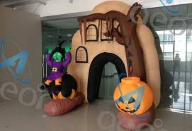 Halloween Inflatable Archway Tunnel by Halloween Inflatable Haunted House Yard Decor For Sale