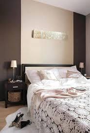 decoration chambre peinture deco chambre peinture murale chambre a coucher en couleur marron