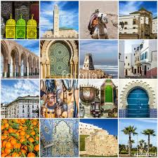 Morocco Travel Collage