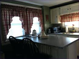 Primitive Valance Living Room Fabulous Rustic Bedroom Curtains Kitchen Red