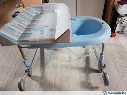 baignoire bébé table à langer à poser brevi a vendre 2ememain be