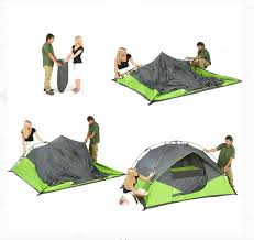 100 Ozark Trail Dome Truck Tent 4 Person 9 X 7 Instant Fast Set Up Light