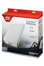 meilleure antenne tnt interieur antenne tv tnt one for all sv 9455 sv9455 1400088 darty